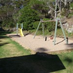 Playground in Kianiny Bay picnic area