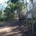 Following the Darri Track signs