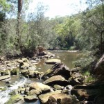 Crossing Cowan creek