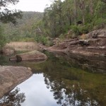 Glenbrook Ck below Martins Lookout