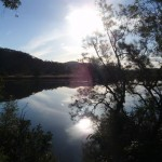 Reflections across the Hawkesbury