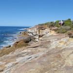 Walking along Jibbon Head