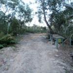 Gate on Tunnel track near Bulls Quarry