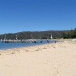 Patonga Beach and wharf