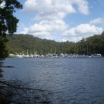 Boats on Cowan Creek