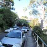Walking along footpaths through Mosman
