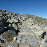 Rocky Path leading to Mt Kosciuszko