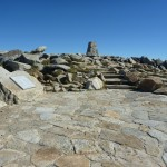 Just before the Mt Kosciuszko Summit