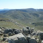 View from Mt Kosciuszko