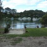 Boat ramp at Elvina Bay Park