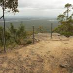 Western viewpoint on Mt Sugarloaf.