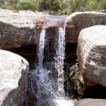 The falls at Wattamolla Dam