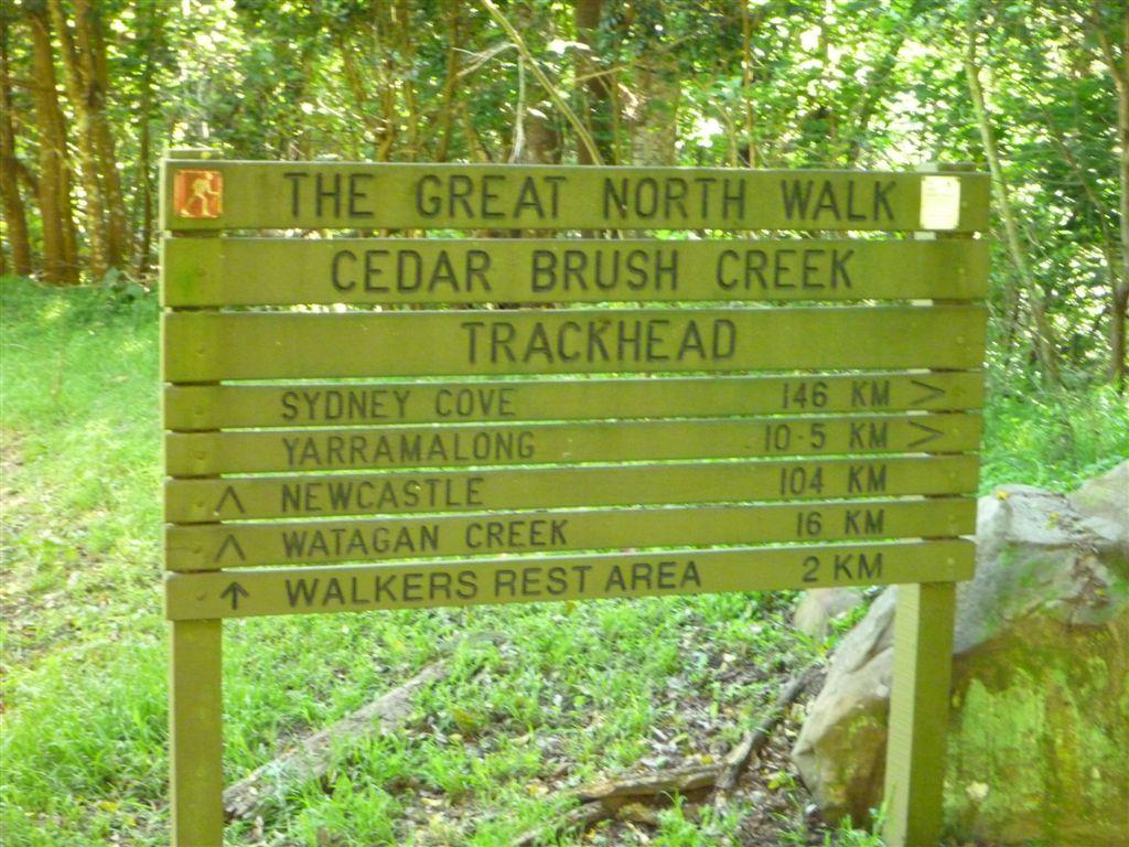 Cedar brush creek