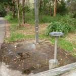 Drinking fountain on the Owens Walkway in Redhead