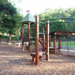 Childrens playground at Carnley Ave in Blackbutt Reserve