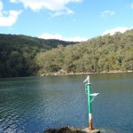 Nav marker on Cowan Creek
