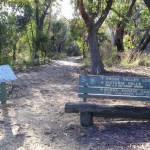 Start of Victoria Falls Track