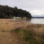 across form Patonga boat ramp