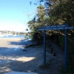 Sign for Manly Scenic Walkway