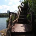 Stairs at Taronga Wharf