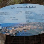 Cootapatamba Lookout sign