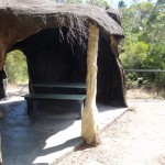 'Cave' shelter at Reids Plateau Picnic area