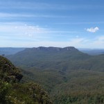 View of Mount Solitaty from Clif View lookout