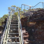Staircase Looking up to the Lady Darley Lookout from the west