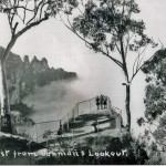 Mist from Vaniman's Lookout, 1940 Wallace Green